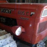 Trattore cingolato Fiat 605 super