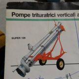 Pompa trituratrice  Super120 per liquami doda