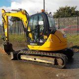 Escavatore Jcb 8085 zts