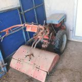 Motocoltivatore Nibbi 18 cv diesel con fresa