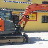 Mini escavatore  zx85usb lc-3 hitachi