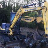 Escavatore New holland E50