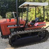 Trattore cingolato New holland 72 85