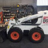 Minipala  Bobcat 863 h.f. e betoniera fiori db250s