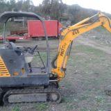 Mini escavatore  Jcb 8017