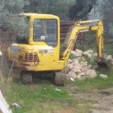 Mini escavatore  Komastu pc 20