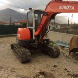 Mini escavatore Kubota kx161-3