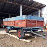 Rimorchio agricolo  A pianale fisso mt 3.80x1.80 salzotti
