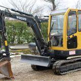 Mini escavatore Volvo Ec25