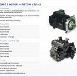 Pompe e motori a pistoni assiali  oleodinamiche e motori oleodinamici taurasi