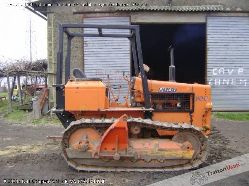 Trattore cingolato fiat 90 c for Vendita trattori usati lazio