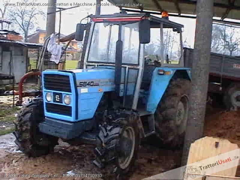 Trattore landini 5840 for Vendita trattori usati lazio