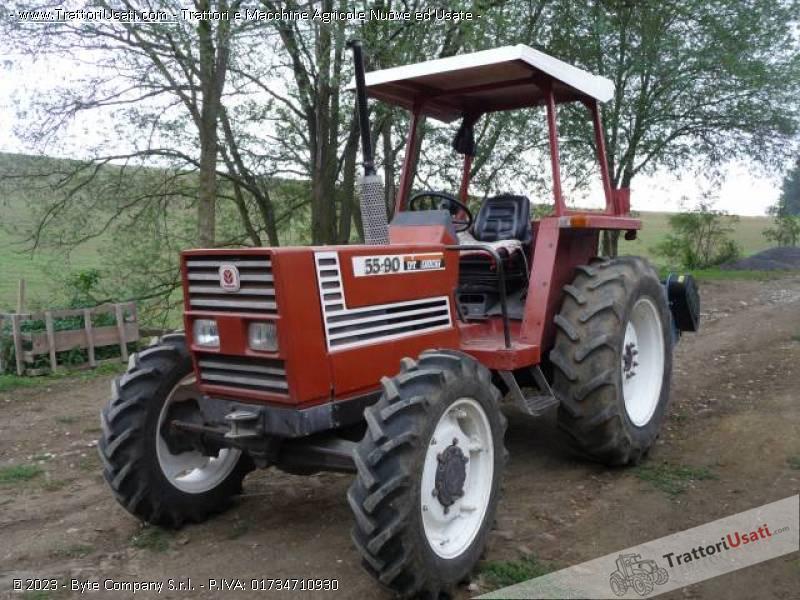 Trattore fiat 55 90 dt for Consorzio agrario piacenza trattori usati