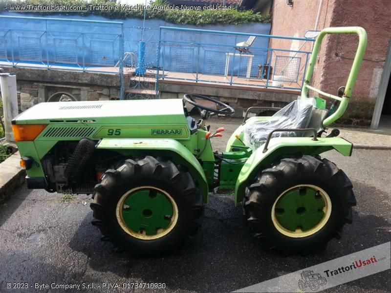 Trattore ferrari 95 for Vendita trattori usati lazio