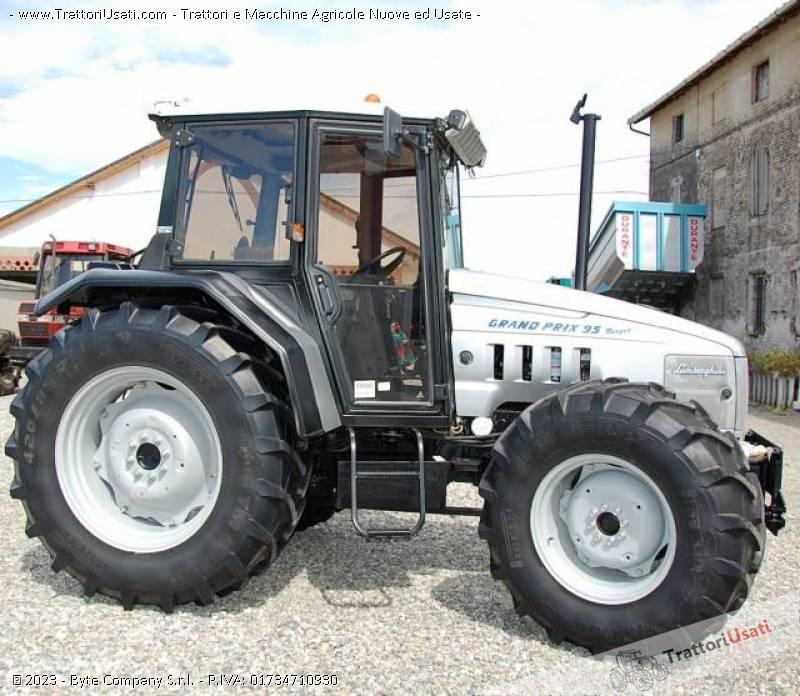 Trattore lamborghini gran prix 95 target for Vendita trattori usati lazio