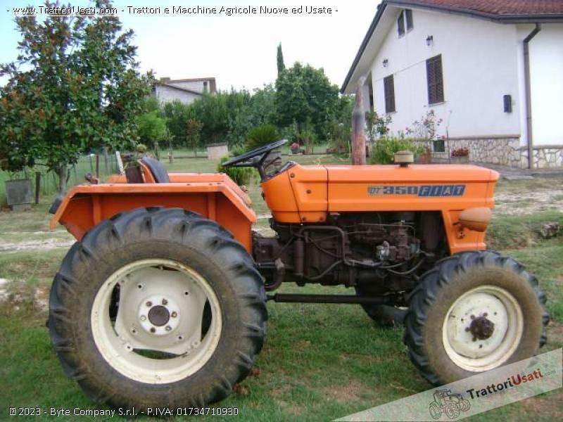 Trattore fiat 350dt for Vendita trattori usati lazio