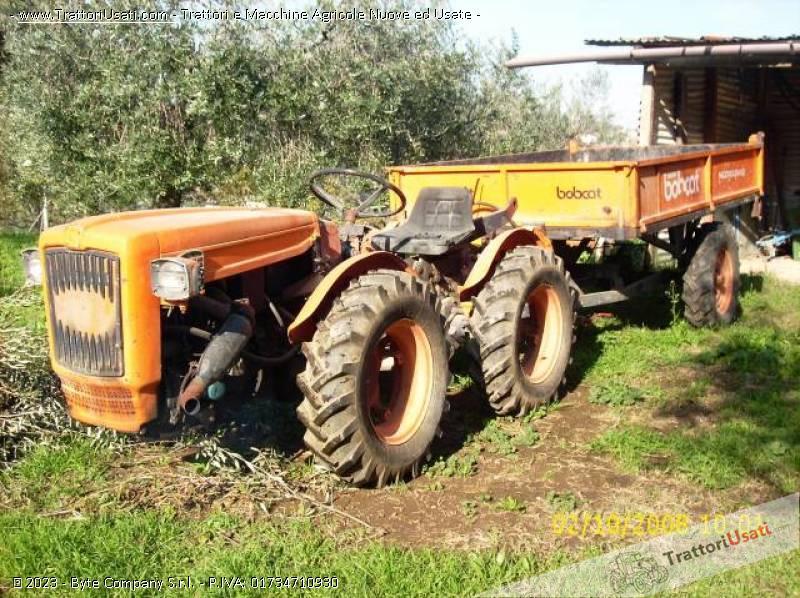 Trattore carraro a supertigre for Vendita trattori usati lazio