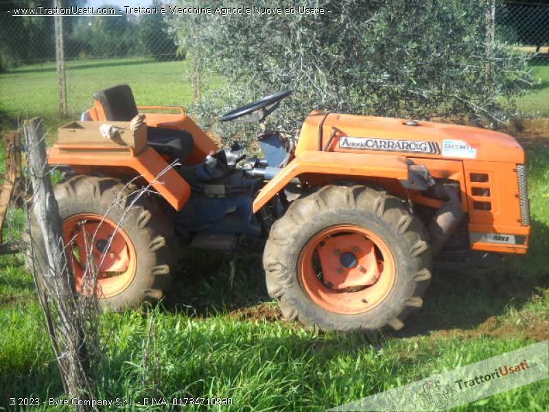 Trattore carraro a supertigre 4000 snodato for Vendita trattori usati lazio