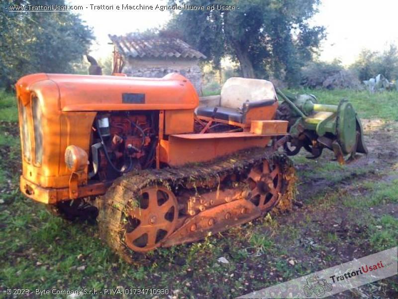 Trattore cingolato fiat 311 for Vendita trattori usati lazio