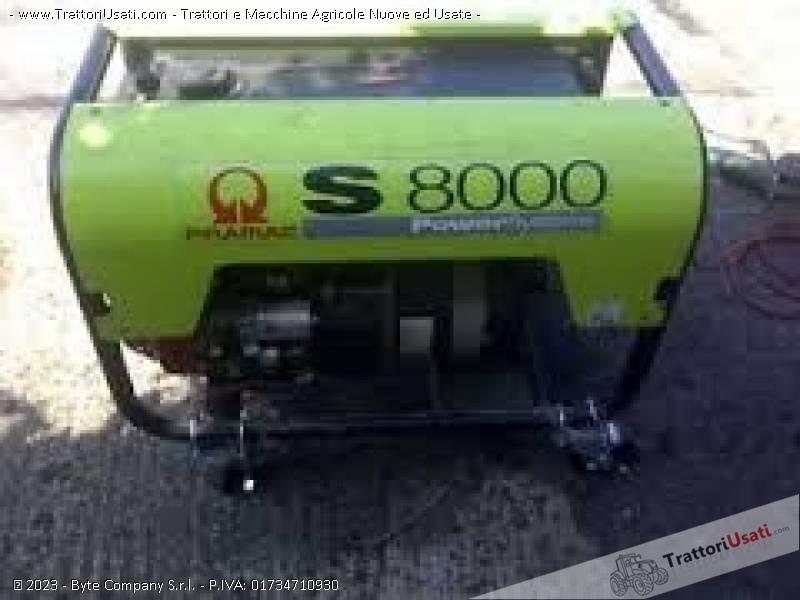 Gruppo elettrogeno pramac s8000 for Gruppo elettrogeno honda usato