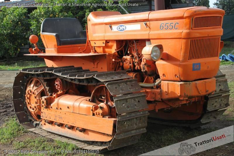 Trattore cingolato fiat 655 for Vendita trattori usati lazio