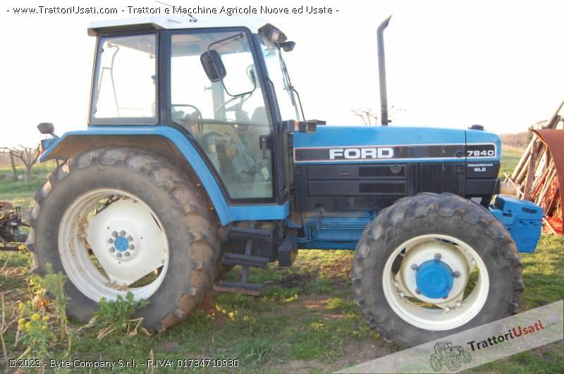 Trattore ford 7840 sle powerstar for Vendita trattori usati lazio