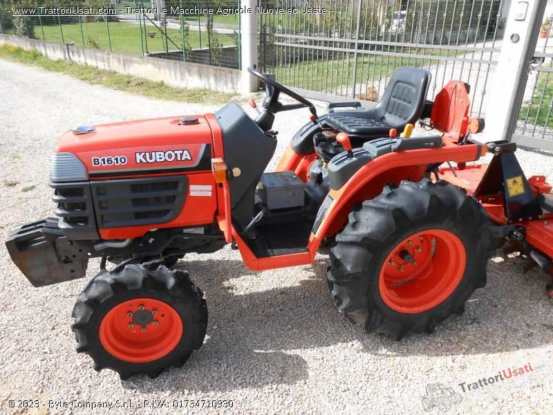 Foto trattore kubota b1610 for Trattori kubota
