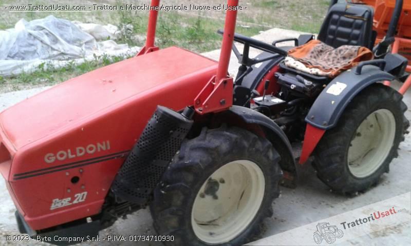Trattore goldoni 20 base for Vendita trattori usati lazio