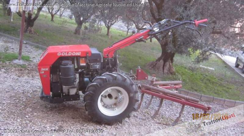 Motocoltivatore goldoni special lux 140 diesel for Aratro per motocoltivatore goldoni