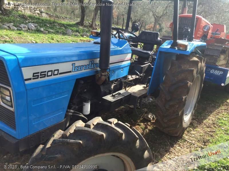 Trattore landini 5500 ultima serie 83 for Vendita trattori usati lazio
