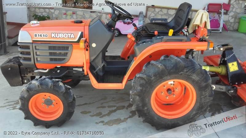 Trattore kubota b1610 for Vendita trattori usati lazio
