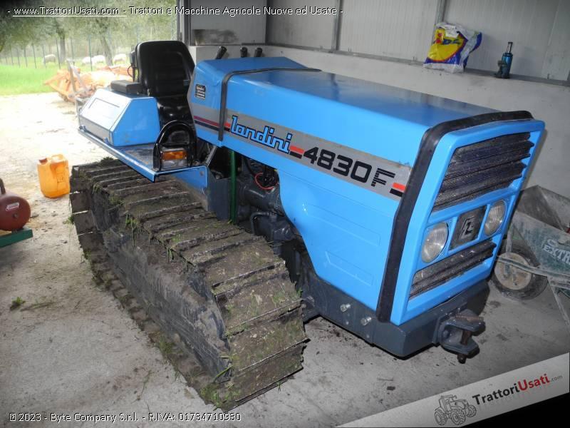 Trattore cingolato landini 4830 f for Vendita trattori usati lazio