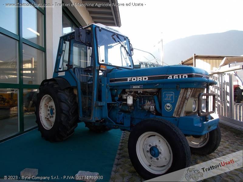 Trattore frutteto ford 4610 n for Cavalli in vendita in trentino