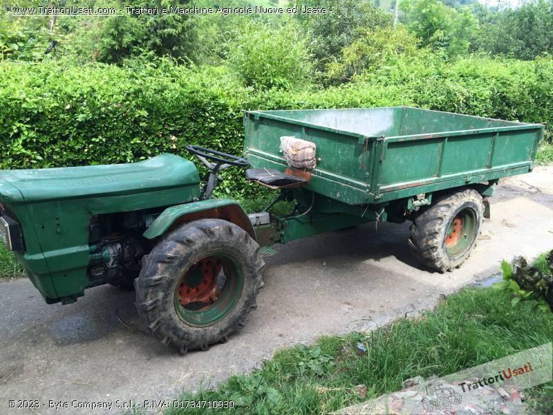 Motoagricola goldoni universalcar 424 for Vigolo macchine agricole