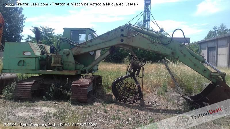 Foto Annuncio Escavatore  - 120 ql hydromac