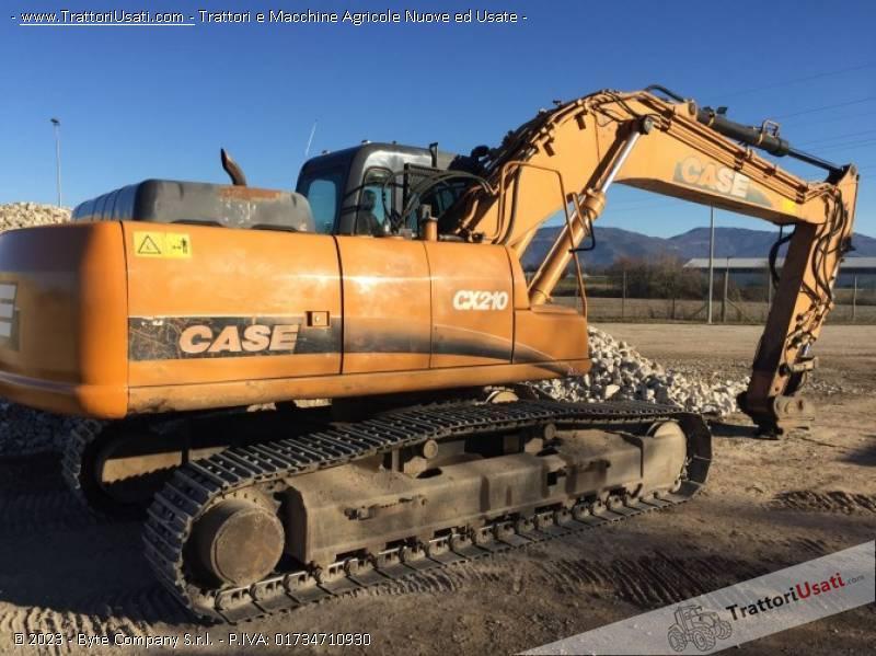 Foto Annuncio Escavatore case - cx210