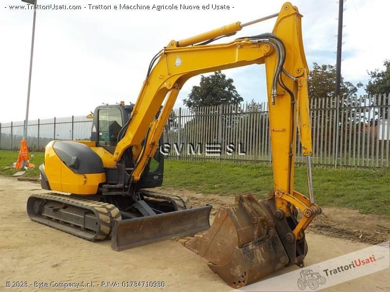 Foto Annuncio Mini escavatore kubota - kx080-3