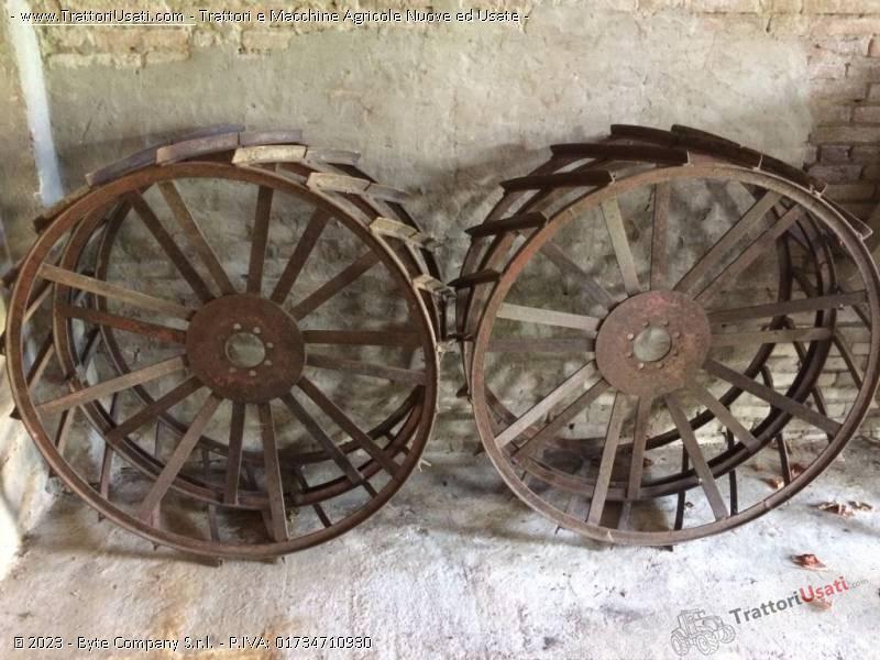 Foto Annuncio Ruote  - in ferro gabbie