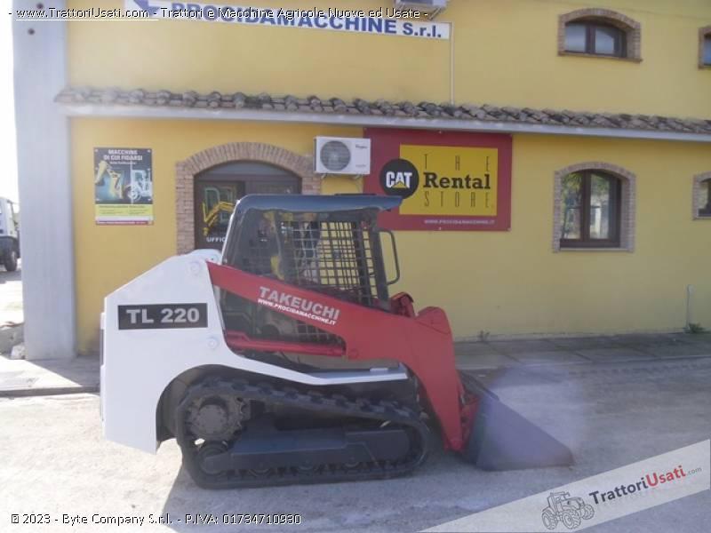 Foto Annuncio Pala cingolata  - tl220 takeuchi