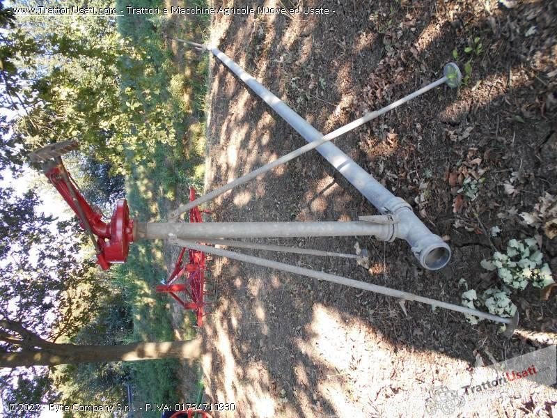 Foto Annuncio Impianto irrigazione  - pompa caprari con tubi zincati
